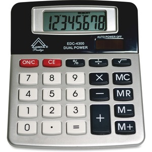Aurex 8-Digit Dual Power Desktop Calculator