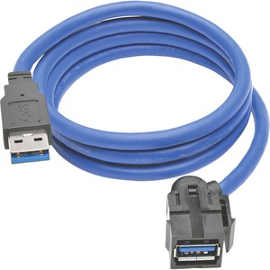 3ft U324-003-Kj USB M/F Superspeed Keystone Jack Extn / Mfr. No.: U324-003-Kj