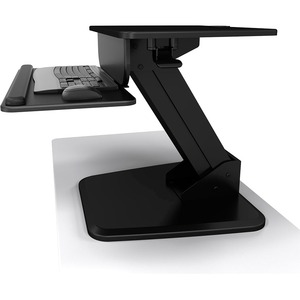 Sit To Stand Freestanding Black Desktop Workstation Height Adju / Mfr. No.: A-Stsfb