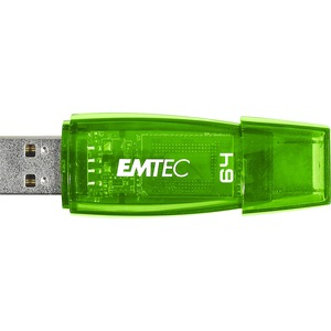 Clé USB Emtec Color Mix C410 64 Go - USB 2.0  Vert - ECMMD64G2C410
