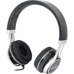 Noise Isolating Studio Headphone W/ Mic Blk W/ Slvr AC / Mfr. No.: Hs3500blk