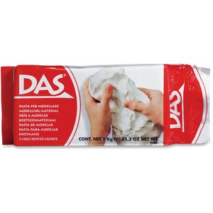 DAS® Air Hardening Modelling Clay 1 kg White