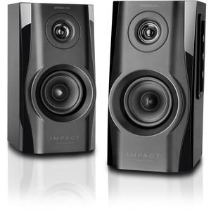 SPEEDLINK IMPACT Stereo Speakers, Black