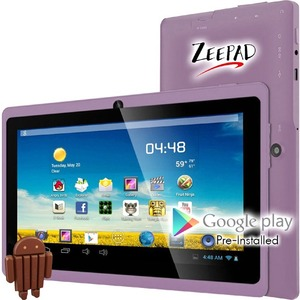 7in Android 4.4 4gb Bluetooth Dual Camera Wifi / Mfr. No.: 7drk-Q-Purple