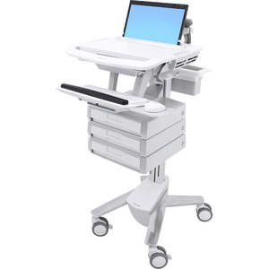 Ergotron StyleView Laptop Cart, 3 Drawers (1x3)