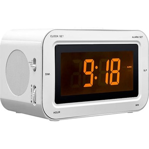 Bigben Interactive Alarm Clock Radio 'Stickers' (White)