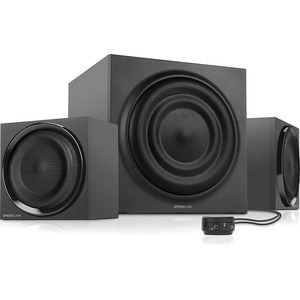 SPEEDLINK MAJESTY 2.1 Subwoofer System, Black