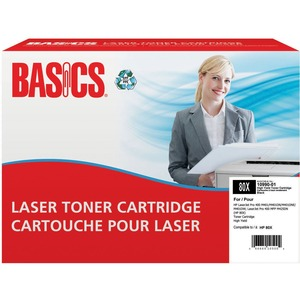 Basics® Laser Cartridge High Yield (HP 80X) Black