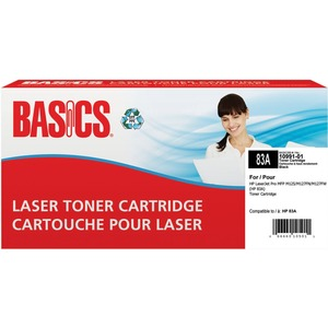 Basics® Laser Cartridge (HP 83A) Black