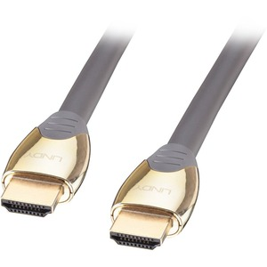 LINDY 0.5m Gold High Speed HDMI Cable with Ethernet
