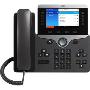 Cisco 8841 IP Phone - Wall Mountable, Desktop - Charcoal Gray