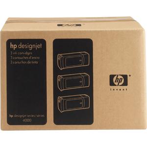 Encre HP Jaune N°90 Multipack 400ML - C5085A