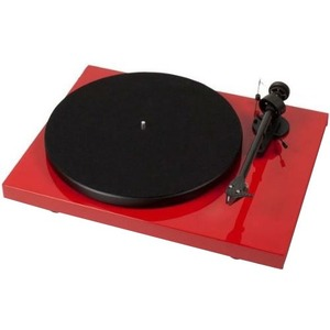 Pro-Ject Debut Carbon DC Red Turntable with Factory-Installed Cartridge
