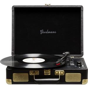 Goodmans Ealing | Portable Suitcase Turntable Black