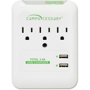Compucessory PROTECT,SURGE,WALL TAP,SLIM