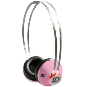 Jivo One Direction (1D) Signature Series SnapCaps On-Ear Headphones in Pink
