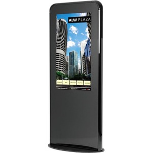 "NEC Display 46"" Silver Portrait Kiosk"