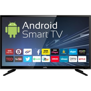 """Cello 40"""" Android Smart LED TV with Wi-Fi and Freeview T2 HD"""