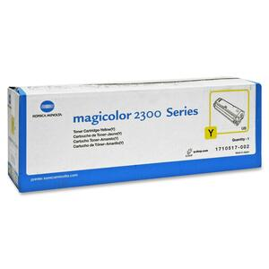 Magicolor 2300 Yellow Toner Approx 1500 Prints At 5% Covera / Mfr. No.: 1710517002
