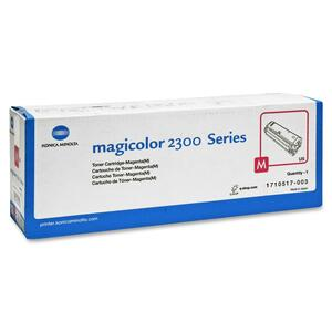 Magicolor 2300 Magenta Toner Approx 1500 Prints At 5% Covera / Mfr. no.: 1710517003