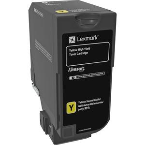 Toner Lexmark Jaune Yellow High Yield - 74C0H40