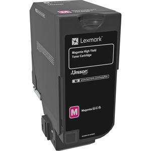 Toner Lexmark Magenta High Yield pour Lexmark CS725de, CS725dte - 74C0H30