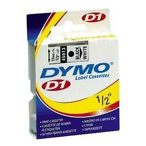 "DYMO® D1 Replacement Tape 3/4"" Black on White"