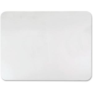 """Desk Pad Ecotex 17x22"""" Clear"""