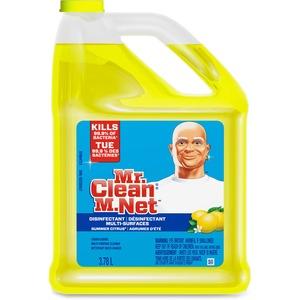 Mr. Clean® Multi-Surfaces Disinfectant Liquid Cleaner Summer Citrus 3.78 L