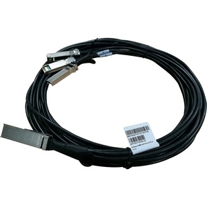 HP X240 QSFP28 4xSFP28 5m Direct Attach Copper Cable
