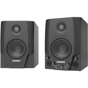 Samson Studio GT - Active Studio Monitors with USB Audio Interface