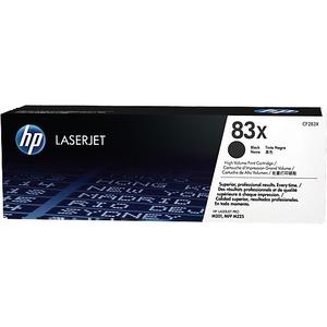HP 83X - Pack de 2 - à rendement élevé - noir - originale - LaserJet - cartouche de toner (CF283X) - CF283XD