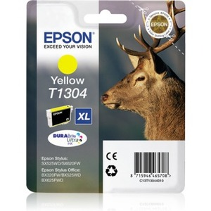 Ink/T1304 EPSON Stag XL 10.1ml YL SEC - C13T13044022