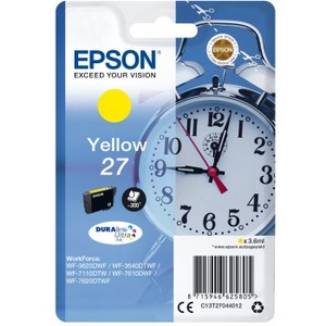 Ink/27 EPSON Alarm Clock 3.6ml YL SEC - C13T27044022