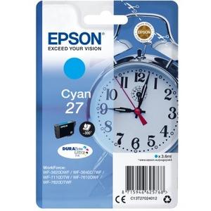 Ink/27 EPSON Alarm Clock 3.6ml CY SEC - C13T27024022