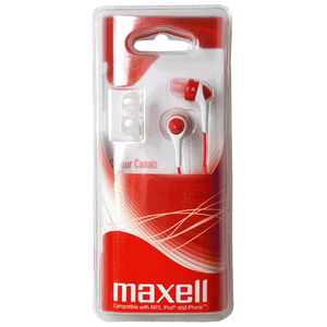 Maxell Colour Canalz Earphone