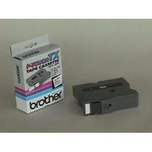 Ruban Brother Noir/Blanc 24mm - TX251