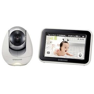 Hanwha Techwin SEW-3053W BabyView Baby Video Monitoring System IR Night Vision PTZ 5.0