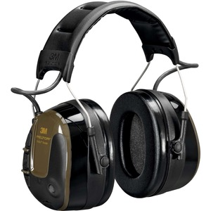 Peltor ProTac Shooter Headset, 32 dB, Green, Headband, MT13H223A