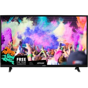 """Linsar 40"""" UHD Smart Television with Freeview HD"""