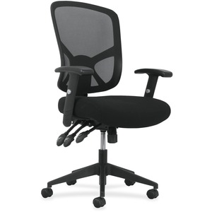 bsxvst121 basyx by hon adjustable arms high back task chair bsx