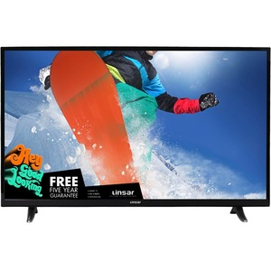 "Linsar 55"" UHD Smart Television with Freeview HD"