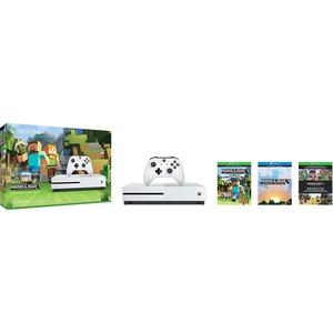 Microsoft Xbox One S Minecraft Favourites Bundle (500GB)
