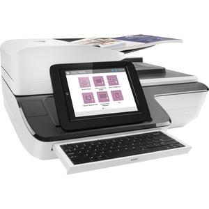 Hp Scanjet Flow N9120 Fn2 Sheetfed Scanner 600 Dpi Optical 24 Bit Color 8 Bit Grayscale