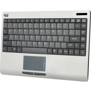 USB Wireless Rf Slimtouch Touchpad Keyboard Silver/Black / Mfr. No.: Wkb-4000us