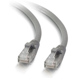 1ft Cat5e Gray Utp Molded Snagless Patch Cord / Mfr. no.: 24814