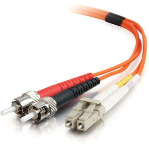 2m Fiber Optic Patch Cord Lc-St 62.5/125 Mmf Duplex Pvc / Mfr. No.: 33164