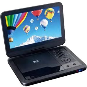 """Supersonic SC-1710DVD Portable DVD Player - 10.1"""" Display - 1024 x 600"""