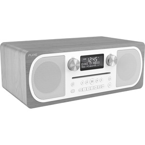 Pure Evoke C-D6 (Grey Oak) Stereo All-in-one Music System with Bluetooth