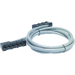 25ft Data Distribution Cable Cat5e UTP Cmr Gray 6xrj-45 / Mfr. No.: Ddcc5e-025